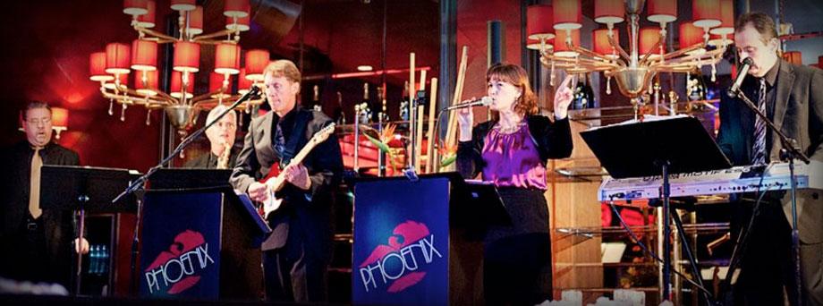 Live performance of Phoenix Band